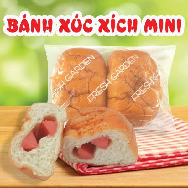web bánh xúc xích mini